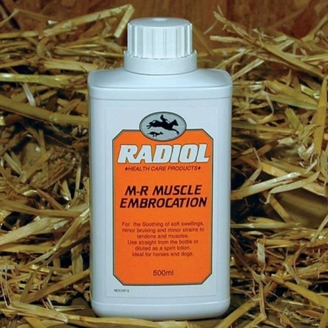 Radiol M-R Muscle Embrocation for Horses and Dogs 500ml