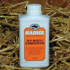 M-R Muscle Embrocation for Horses and Dogs 500ml