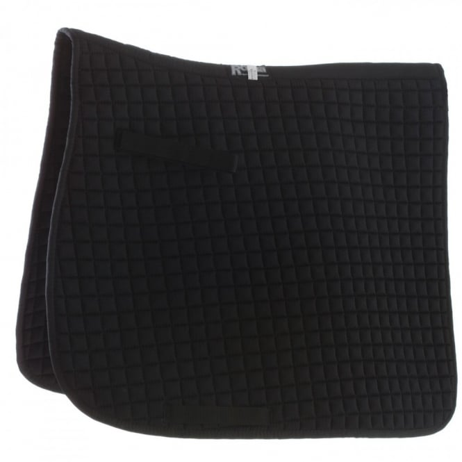 Roma Grand Prix Dressage Pad Small Square Black Full