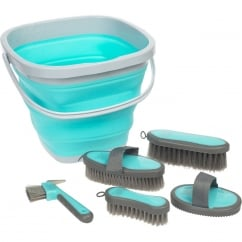 Grooming Bucket Kit Light Blue