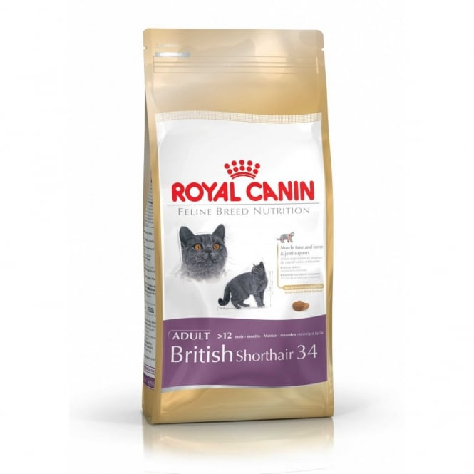 Royal Canin British Shorthair 34 - Complete Adult Cat Food