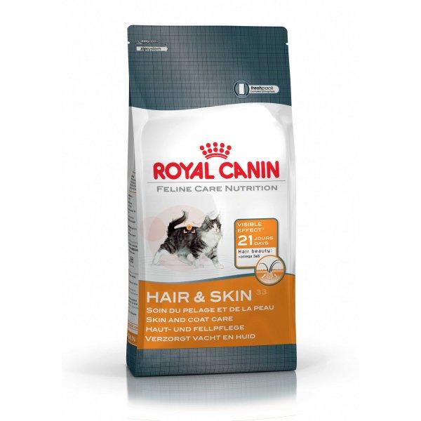 royal canin hair skin 33 complete cat food at burnhills. Black Bedroom Furniture Sets. Home Design Ideas