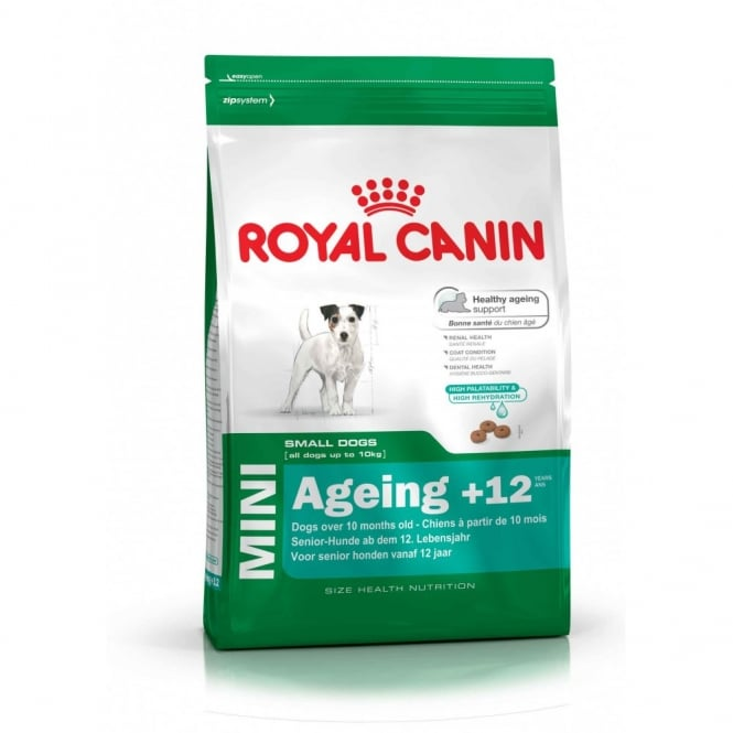 Royal Canin Mini Ageing +12 Years 1.5Kg - Complete Senior Dog Food
