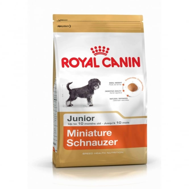 Royal Canin Miniture Schnauzer Junior 1.5Kg - Complete Puppy Food