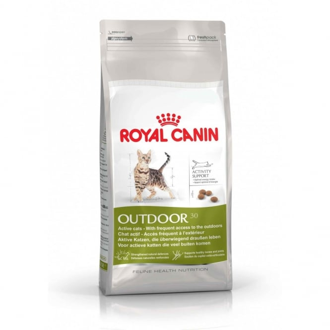 Royal Canin Outdoor 30 - Complete Adult Cat Food