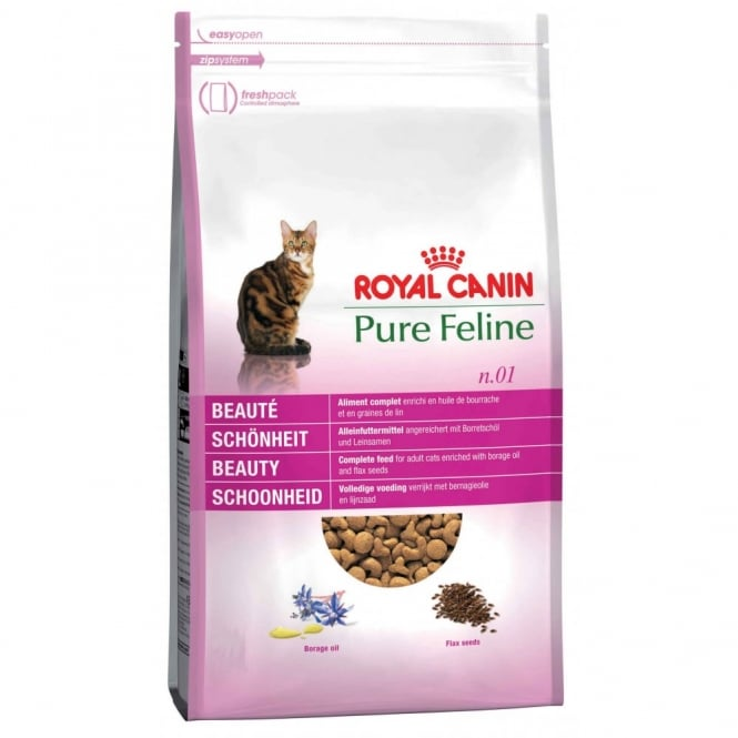 Royal Canin Pure Feline No 1 Beauty - Complete Adult Cat Food