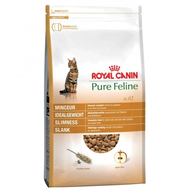Royal Canin Pure Feline No 2 Slimness - Complete Adult Cat Food
