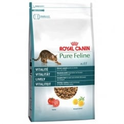 Pure Feline No 3 Lively - Complete Adult Cat Food