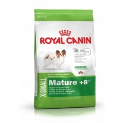 Royal Canin X-Small Mature +8 Years 1.5Kg - Complete Mature Dog Food