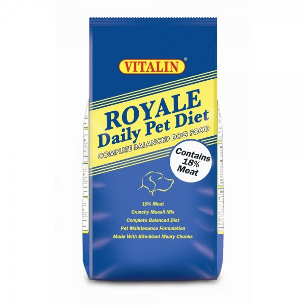 Vitalin royale dog food at burnhills for Cuisines completes