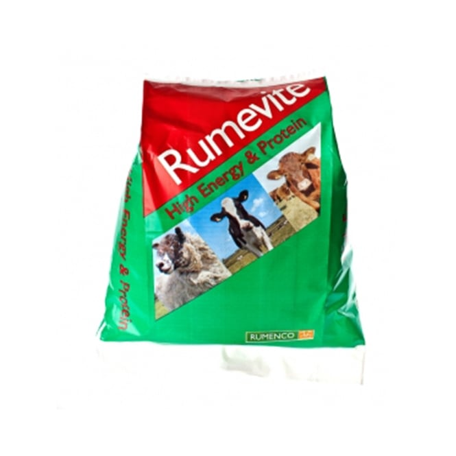 Rumenco Rumevite High Energy and Protein 22.5Kg - Cattle & Sheep Supplement