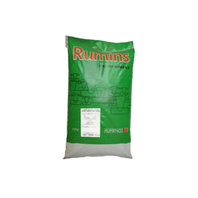 Rumenco Rumins Cattle Mineral High Mag - Cattle Suppelment 25Kg