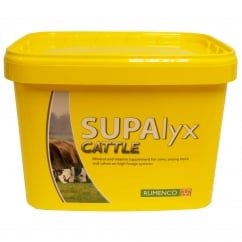 Supalyx Cattle (YELLOW) Nutritional Lick Cattle 22.5Kg