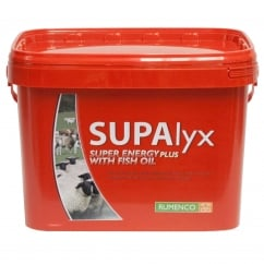 Supalyx Super Energy Plus With Fish Oil 22.5Kg (RED) Cattle & Sheep Supplement