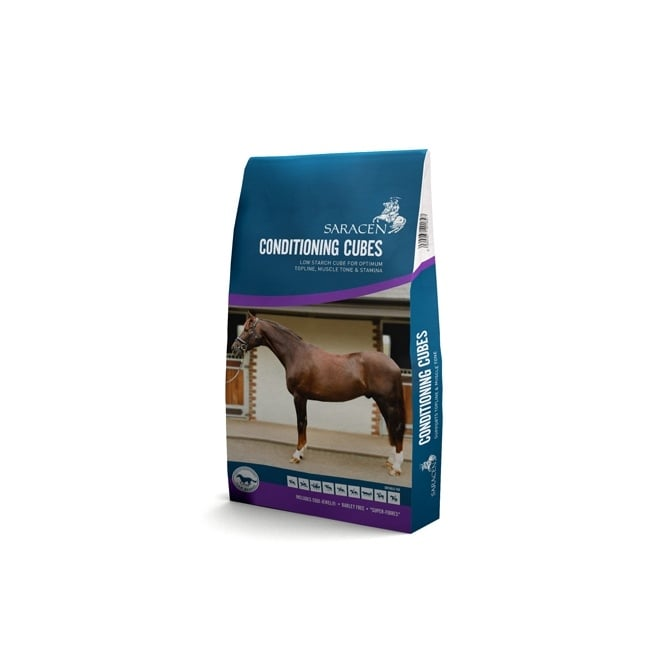 Saracen Conditioning Cubes 20Kg - Horse Feed