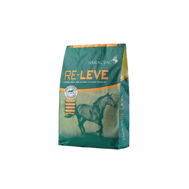 Saracen Re-Leve 20Kg - Cereal Free Performance Horse Feed