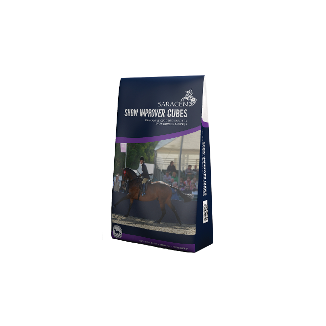 Saracen Show Improver Cubes 20Kg - Conditioning Horse Feed