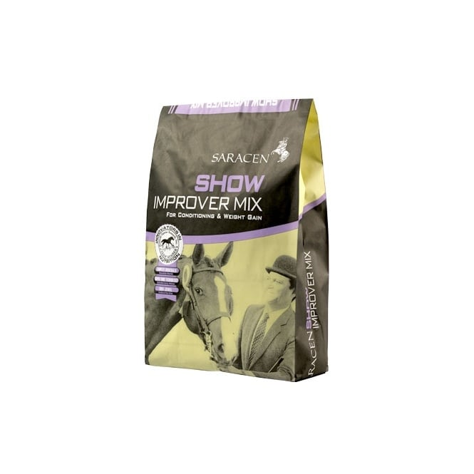 Saracen Show Improver Mix 20Kg - Conditioning Horse Feed