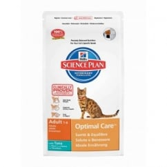 Hills Science Plan Feline Adult Optimal Care - Tuna - 2Kg