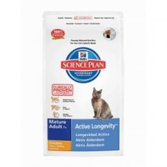 Hills Science Plan Feline Mature Adult 7+ Active Longevity - Chicken - 10Kg