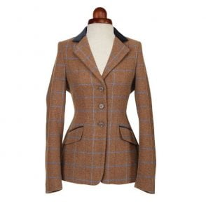 Green Check Shires Childs Huntingdon Tweed Competition Jacket
