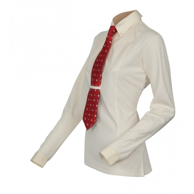Shires Maids Long Sleeve Tie Shirt Yellow