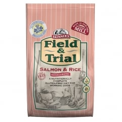 Field and Trial Salmon & Rice Dog Food 15Kg
