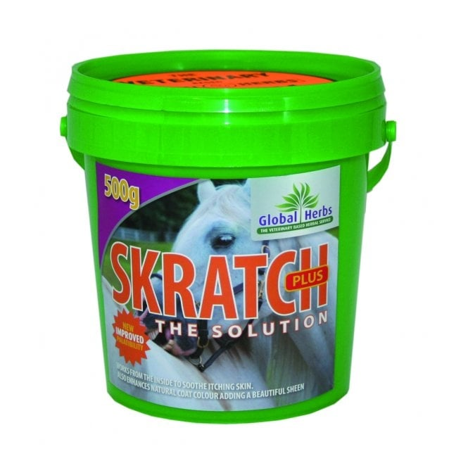 Global Herbs Skratch Plus - Horse Supplement