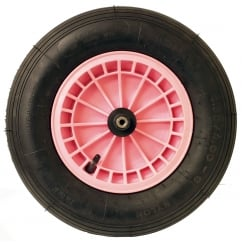 Spare Wheel For FORT Cosmo 90Ltr (WB31) Pink Wheelbarrow