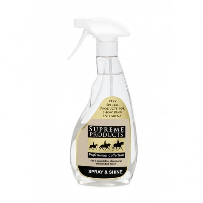 Supreme Products Spray and Shine 500ml Show Horse Spray Shine