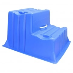 Mountie Portable Step Mounting Block Blue