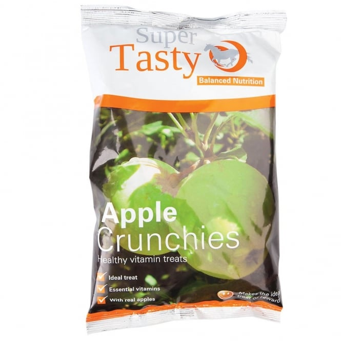 Super Codlivine Super Tasty Crunchies Horse Treats - Apple 500g
