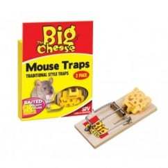 Pre Baited Mouse Trap Twin Pack