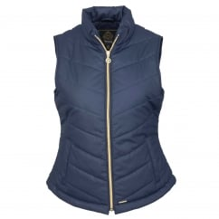 Brunswick Ladies Padded Gilet Night Blue