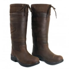 Canyon Country Boots Chocolate - Wide Fit