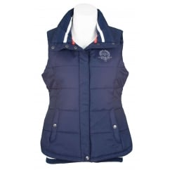 Coleen Ladies Padded Gilet Night Blue