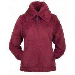 Culford Over Head Ladies Fleece Kirsch