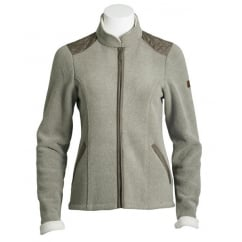 Dara Ladies Full Zip Fleece Jacket Bracken