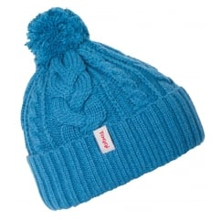 Dinah Knitted Hat One Size Lagoon