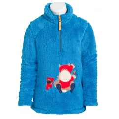 Elsa Childs Fluffy Fleece Sweatshirt Lagoon