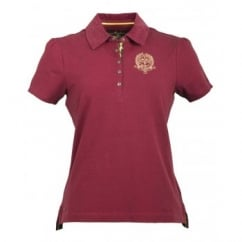 Framsden Ladies Jersey Polo Shirt Kirsch