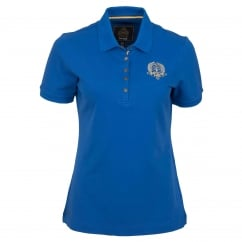 Groveland Ladies Polo Shirt Royal Blue