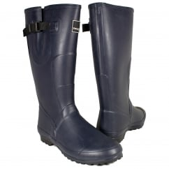 Lady Wanderer Plus Wellington Boots Navy