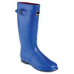Lady Wanderer Wellington Boots Blue