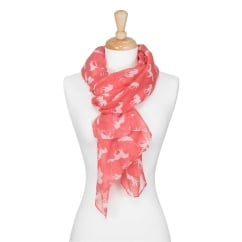 Leyden Ladies Longer Length Scarf Tulip One Size