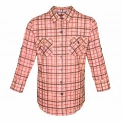 Mackenzie Cotton Shirt Rose Check