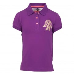 Maja Childrens Polo Shirt Anemone