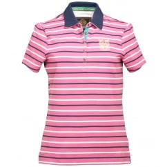 Ravanna Ladies Polo Shirt Gerbera Stripe