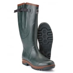 Wanderer Plus Wellington Boots Green