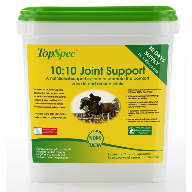 TopSpec 10:10 Joint Support Horse Supplement 1.5Kg